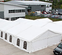 Our First Open Day in our dedicated events marquee
