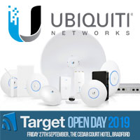 Ubiquiti at the Target Open Day 2019