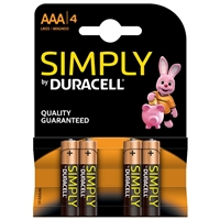DURACELL MN2400B4SIMPLY