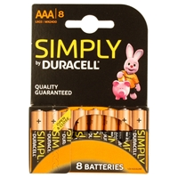 DURACELL MN2400B8SIMPLY