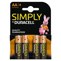 DURACELL MN1500B4SIMPLY