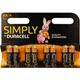 DURACELL MN1500B8SIMPLY