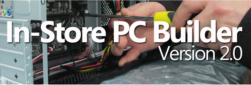In-Store PC Builder 2.0 at Target Components