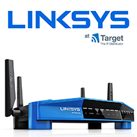 Linksys Networking products at Target Components IT Distributor