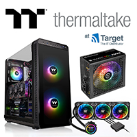 Thermaltake cases, cooling and gaming products at Target Components IT Distributor